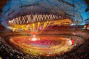 نمونه کمپین تبلیغاتی برای المپیک پکن