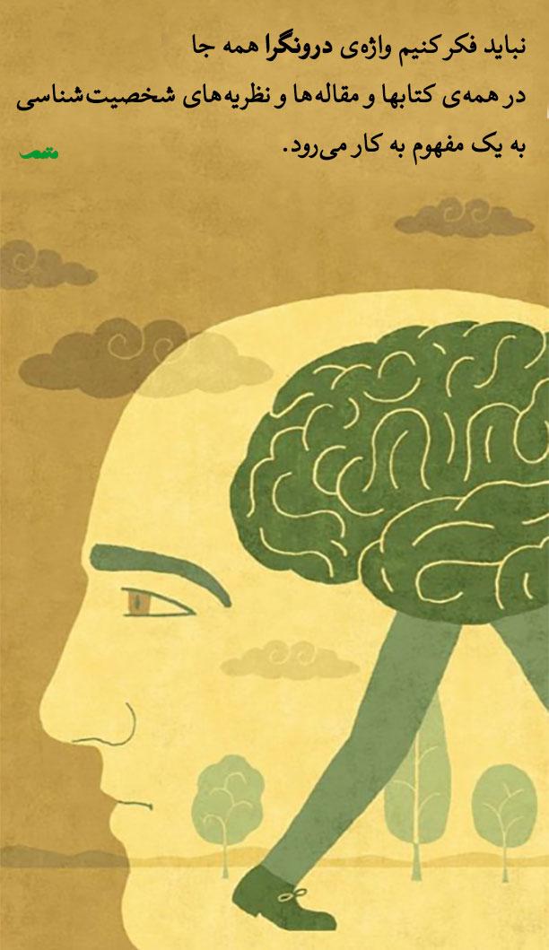 نباید فکر کنیم واژهی درونگرا همه جا در همهی کتابها و مقالهها و نظریههای شخصیتشناسی به یک مفهوم به کار میرود.