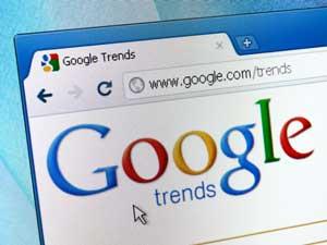 گوگل ترند یا Google Trends