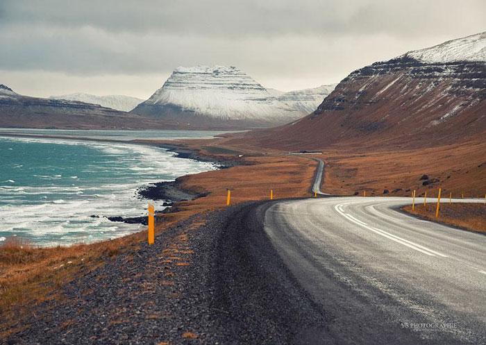 خاکسترهای آتشفشانی در سطح ایسلند - ایسلند به انگلیسی - سفرنامه ایسلند