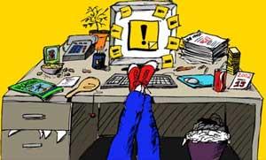 اهمال کاری و به تعویق انداختن کارها - طرح متمم - محل توسعه مهارتهای من