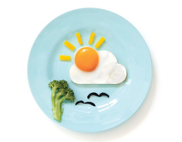 Sun-and-cloud-egg-mold