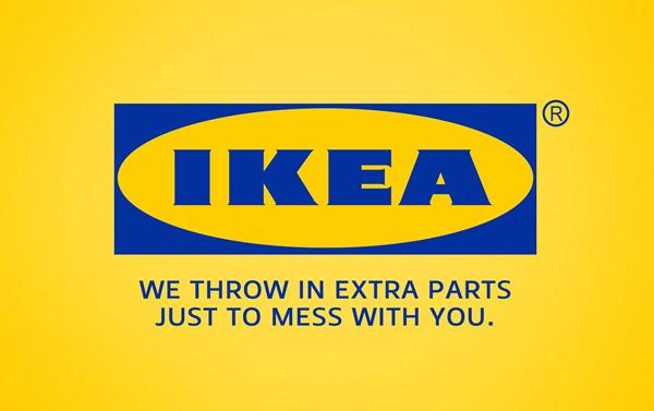 شوخی با شعار تبلیغاتی برند ایکئا