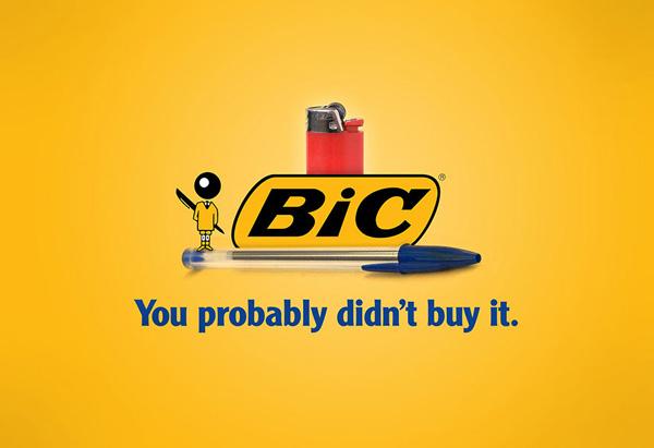 شوخی با شعار تبلیغاتی برند بیک