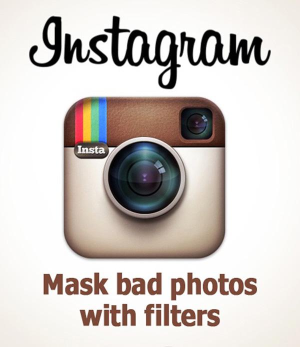 شوخی با شعار تبلیغاتی اینستاگرام - برندی برای عکاسی غیرحرفه ای