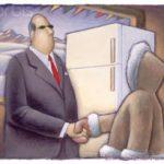 مهارت فروش-درس ۳:وظایف یک فروشنده-دیدگاه یخچال و اسکیمو