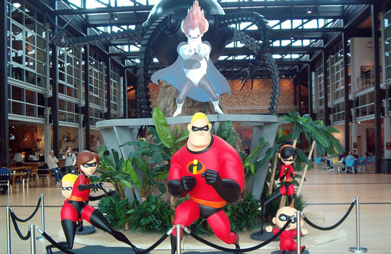 pixar workspace