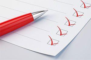 چک لیست طراحی اسلاید