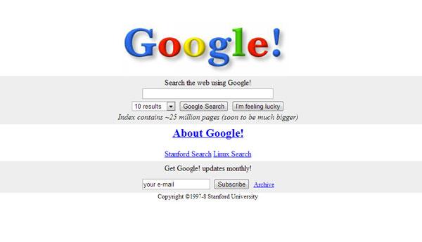 Google.com -1998