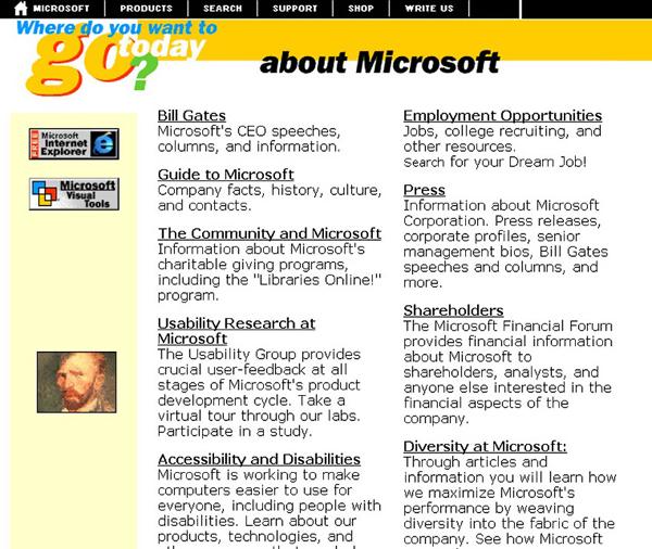 Microsoft.com -1996