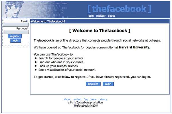 Facebook.com- 2004