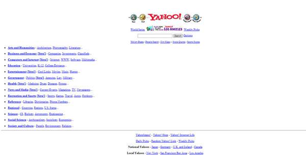 Yahoo.com -1995