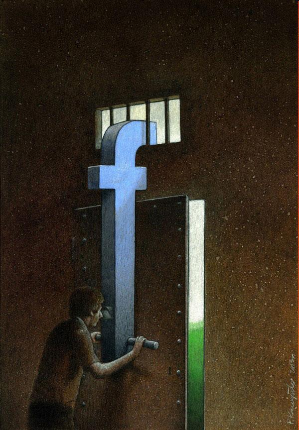 کاریکاتور جالب از فیس بوک