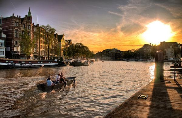 کانالهای آمستردام-هلند