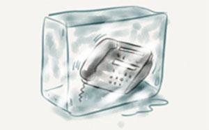 تماس سرد در بازاریابی و فروش