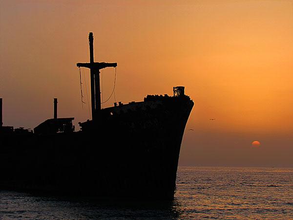 کشتی یونانی-جزیره کیش-ایران