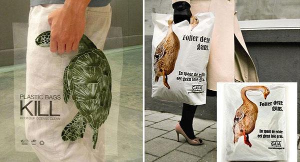 کیسههای پلاستیکی عامل مرگ هستند.