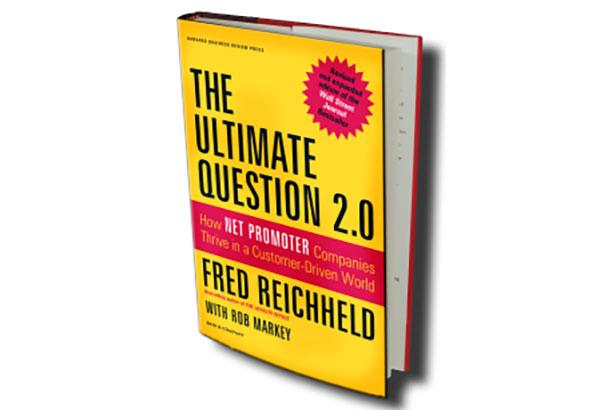 کتاب The Ultimate Question که در آن شاخص NPS معرفی شده است