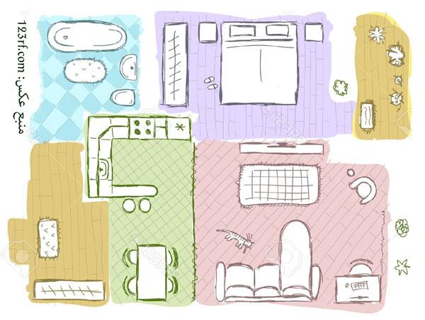 نمونه طراحی داخلی