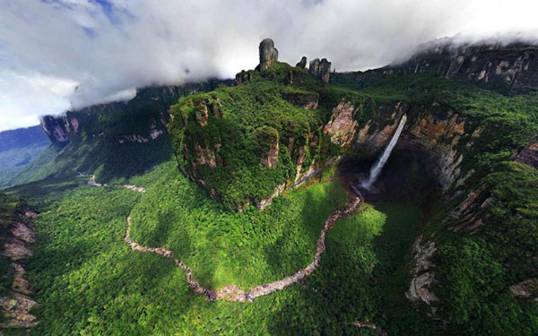 آبشارهای دیدنی دنیا