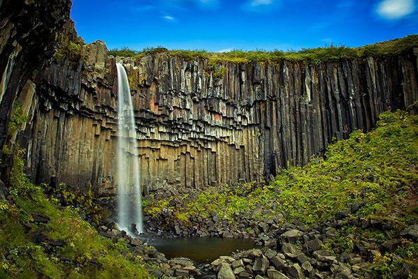 آبشار زیبای ایسلند