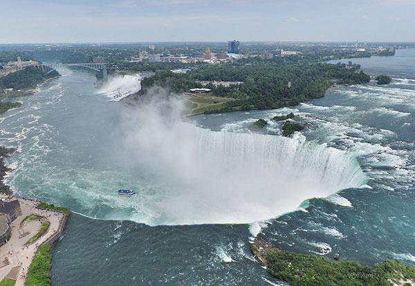 آبشار زیبای نیاگارا