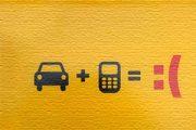 خطر استفاده از موبایل هنگام رانندگی