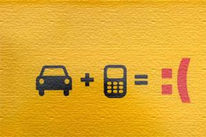 خطرات رانندگی با موبایل