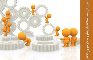 طراحی سیستم فروش - ترسیم دیاگرامهای پارامتر طراحی