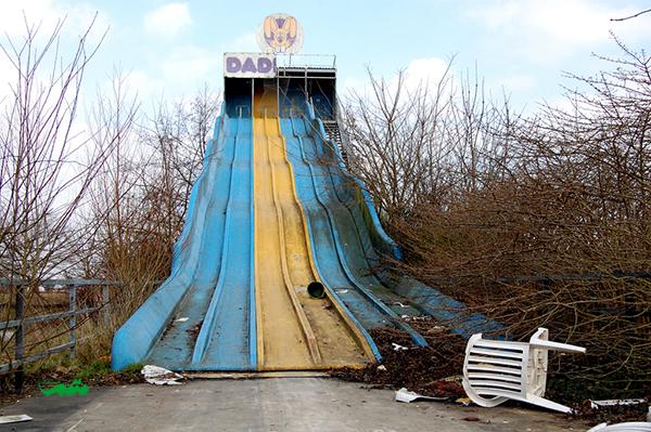 پارک های تفریحی رها شده