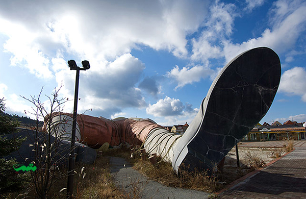 پارک متروکه سفرهای تفریحی گالیور، ژاپن