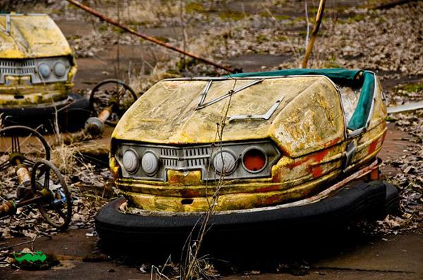 پارک تفریحی متروکه Pripyat، چرنوبیل، اوکراین
