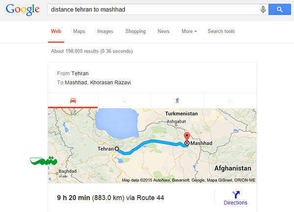 distance_tehran_to_mashhad