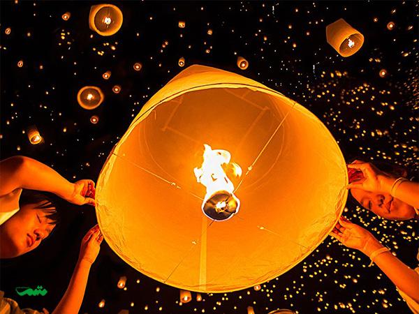 جشنواره فانوس(جشن آرزوها) ۲۳ فوریه هر سال به مناسبت آغاز سال نو چینی درنیوتایپه، تایوان