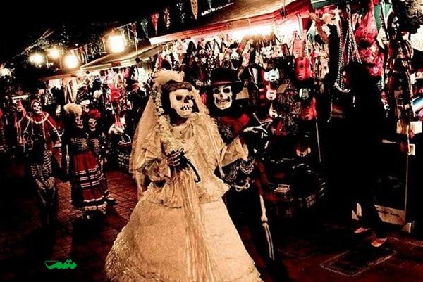 جشن روز مردگان اول نوامبر هر سال در مکزیک