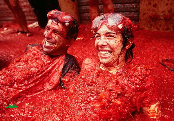جشن توماتینا – بونول، اسپانیا – آخرین چهارشنبه ماه اکتبر