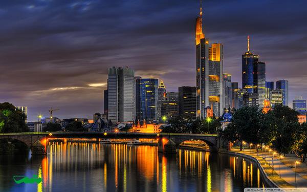 فرانکفورت درشب - عکسهای شهر در شب