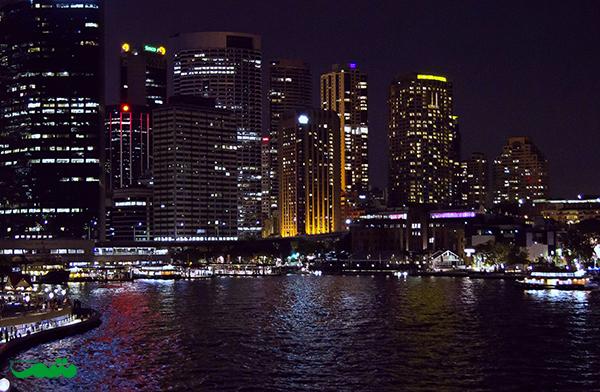 سیدنی در شب - بهترین شهرهای دنیا برای شب زنده داران