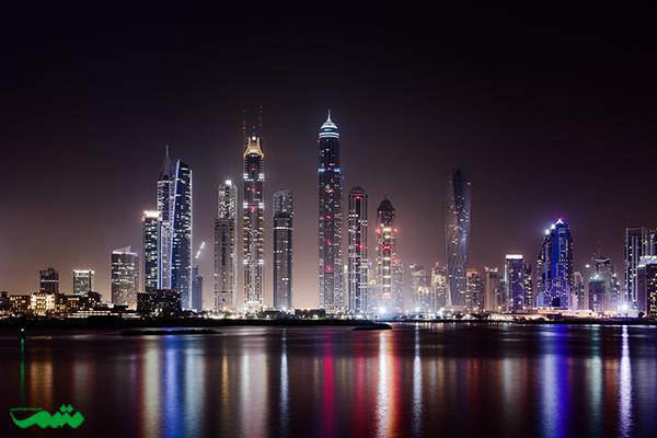 دوبی در شب - هنر عکاسی در شب از شهرها و خیابان ها