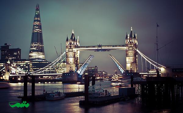لندن در شب - شهر شب زنده دار جهان