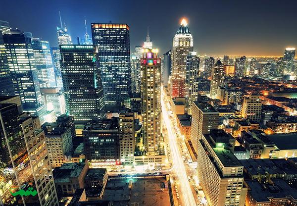 نیویورک در شب