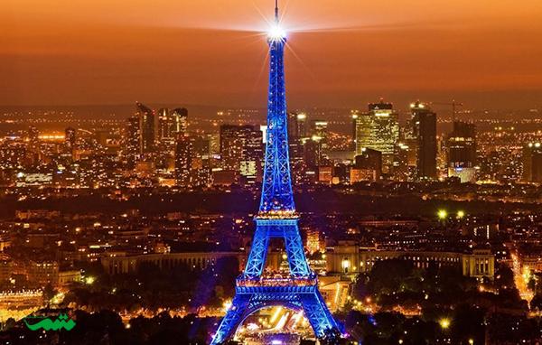 پاریس در شب - شهر پاریس در شب - شهر رویایی در شب