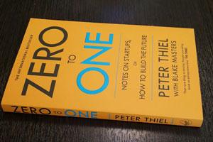 کتاب از صفر تا یک نوشته پیتر ثیل