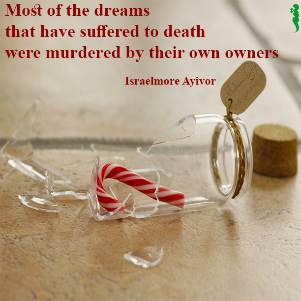 Learning English: Dreams murdered to death