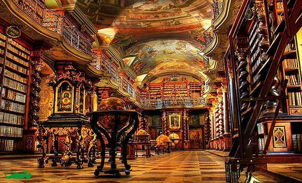 کتابخانه ملی پراگ، پراگ، جمهوری چک