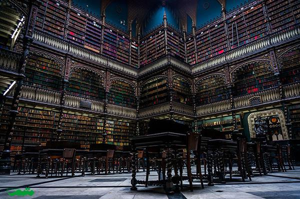 کتابخانه بزرگ ریو دو ژانیرو، برزیل