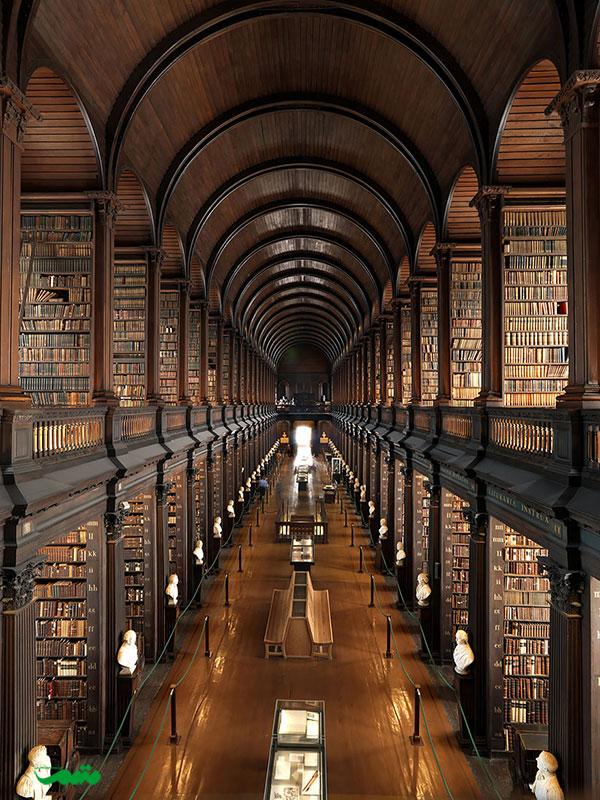 کتابخانه کالج ترینیتی، دوبلین، ایرلند