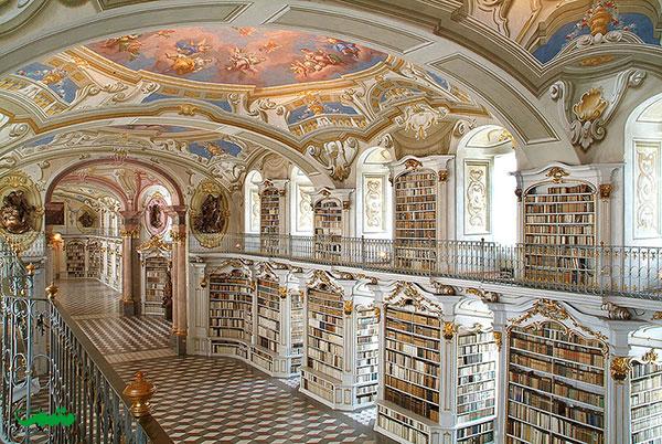 کتابخانه آدمونت، آدومنت ، اتریش