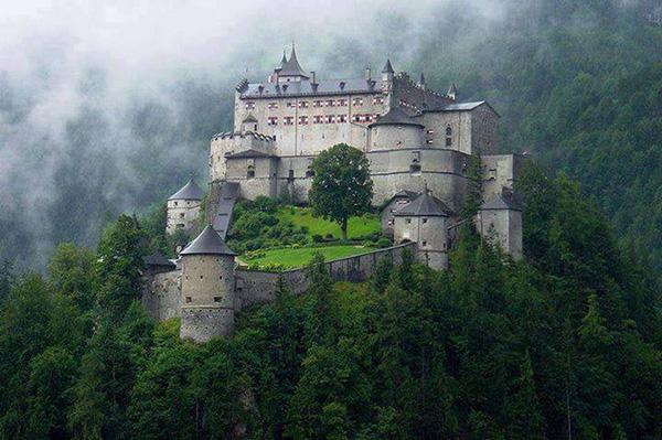 hohenwerfen-castle-Salzburg-Austria-