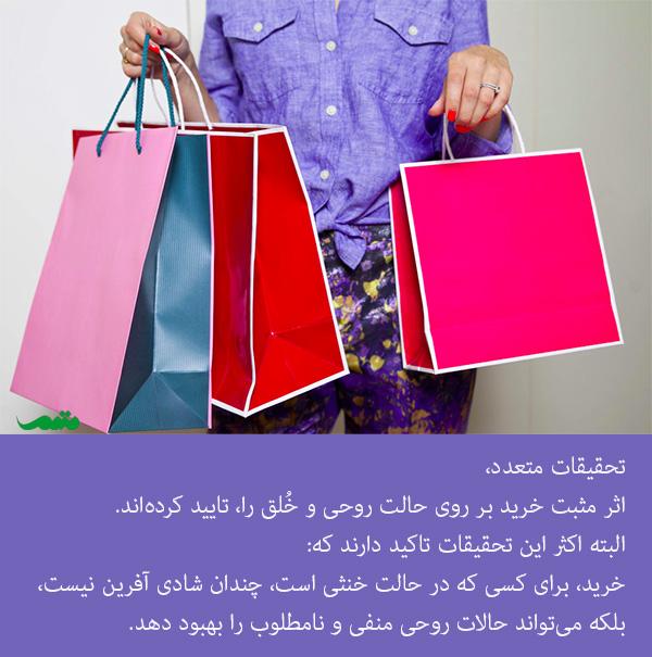 خرید درمانی و اثرات آن